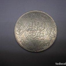 Monedas antiguas de África: MARRUECOS, 10 DIRHAMS DE PLATA DE AH 1331. Lote 102153187