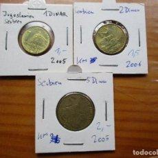 Monedas antiguas de África: SERBIA - LOTE 2005-06. Lote 103367883