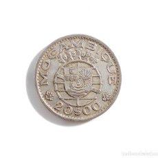 Monedas antiguas de África: PORTUGAL.- 20 ESCUDOS DE MOZAMBIQUE DE 1960, COLONIA DE PORTUGAL - PLATA. Lote 104061175