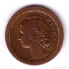 Monedas antiguas de África: GUINEA 20 CENTAVOS 1933 REPUBLICA PORTUGUESA. Lote 130758835
