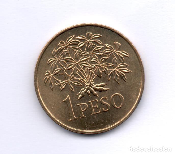 GUINEA BISSAU - 1 PESO 1977 SC KM18 (Numismática - Extranjeras - África)
