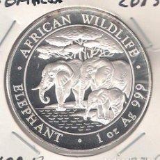 Monedas antiguas de África: MONEDA DE 100 SHILLINGS (CHELINES) ONZA DE SOMALIA DE 2013. PLATA. PROOF. (ME1470). Lote 108909431
