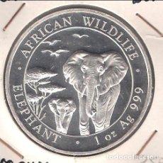 Monedas antiguas de África: MONEDA DE 100 SHILLINGS (CHELINES) ONZA DE SOMALIA DE 2015. PLATA. PROOF. (ME1472). Lote 108911047