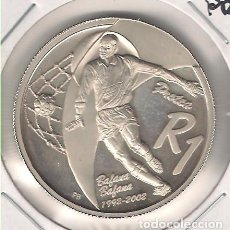 Monedas antiguas de África: MONEDA DE RAND DE SUDÁFRICA DE 2002. PLATA. PROOF. WORLD COINS-KM 277. (ME1477). Lote 109015471