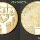 Monedas antiguas de África: MEDALLA ORO TIPO MONEDA HOMENAJE A ANUBIS DIOS DE LA MUERTE DEL ANTIGUO EGIPTO - PESA 28,23 GRA -Nº4. Lote 158939665