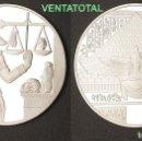 Monedas antiguas de África: MEDALLA PLATA TIPO MONEDA HOMENAJE A ANUBIS DIOS DE LA MUERTE DEL ANTIGUO EGIPTO-PESA 28,20 GRA -Nº1. Lote 135855105