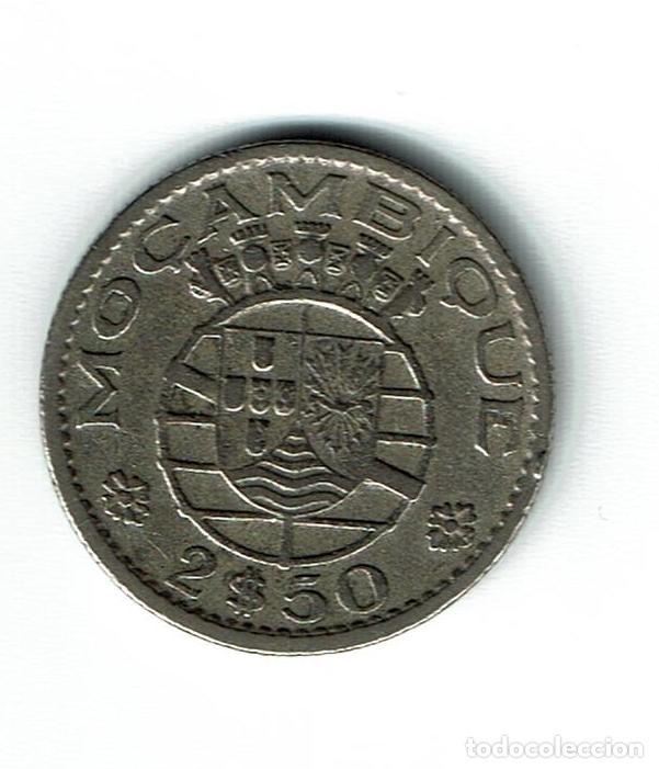 MOZAMBIQUE 2,50 ESCUDOS 1955 (Numismática - Extranjeras - África)