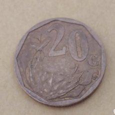 Monedas antiguas de África: SUDAFRICA 20 CENTS 2008. Lote 111238628