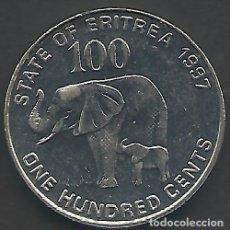 Monedas antiguas de África: ERITREA - 100 CENTS 1991 - S / C - BONITA MONEDA DE LA SERIE DEL AÑO 1991 - VISITA MIS OTROS LOTES. Lote 111538839