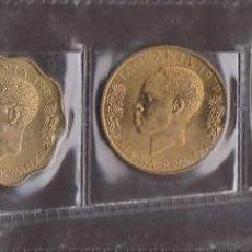 Monedas antiguas de África: MONEDAS EXTRANJERAS -TANZANIA - SERIE DE 5 VALORES 5-10-20-50 SENTI 1 SHILLINGI - KM-1-11-2-3-22. Lote 112424683
