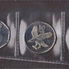 Monedas antiguas de África: MONEDAS EXTRANJERAS - BOTSWANA - 6 VALORES 5-10-25-50 THEBE 1 Y 2 PULA 1991-94-98-99 . Lote 112505175