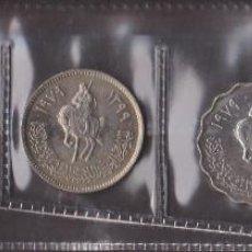 Monedas antiguas de África: MONEDAS EXTRANJERAS - LIBYA 5 VALORES 1-10-20-50 Y 100 DIRHAMS 1979 - KM-18-20-21-22-23. Lote 112506159
