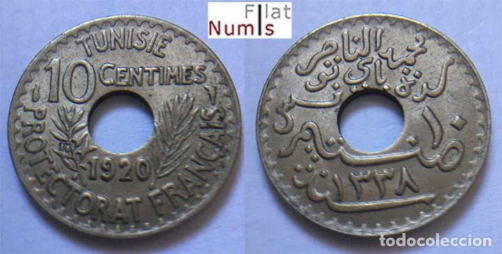 TUNEZ - 10 CENT - 1920 - NIQUEL/BRONCE - SIN CIRCULAR (Numismática - Extranjeras - África)