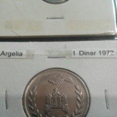 Monedas antiguas de África: ARGELIA 1 DINAR 1972 SC. Lote 113682387