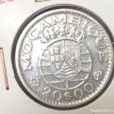 Monedas antiguas de África: EDU8 – MOZAMBIQUE 20 ESCUDOS PLATA 1960 (COLONIA PORTUGUESA). Lote 114232715