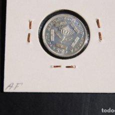 Monedas antiguas de África: SUDAFRICA, 5 CENTIMOS DE PLATA, AÑO 1964. Lote 114552071