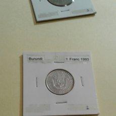 Monedas antiguas de África: BURUNDI 1 FRANCOS 1993 SC. Lote 114617631