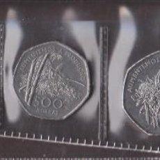 Monedas antiguas de África: MONEDAS EXTRANJERAS - SAN TOMÉ Y PRINCIPE 100-250-500-1000 Y 2000 DOBRAS 1997 - KM-87 AL 91. Lote 124395130