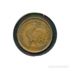 Monedas antiguas de África: ÁFRICA EQUATORIAL, MONEDA, GALLO, 50 CENTIMES, 1943, FRENCH EQUATORIAL AFRICA. Lote 115273831