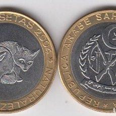 Monedas antiguas de África: SAHARA 500 PESETAS 2004 ZORROS. Lote 161112950
