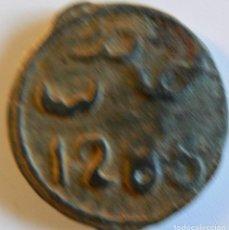 Monedas antiguas de África: MARRUECOS. FELUS / FALUS. MOHAMED IV 1285 (1868). BC. DIÁMETRO 22 MM. PESO 4'66 GR. CON ORLA.. Lote 116371915