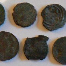 Monedas antiguas de África: MARRUECOS. FELUS / FALUS. LOTE DE 9 MONEDAS RC. ENTRE 20 Y 24 MMM Y ENTRE 3 Y 6 GRS. . Lote 116381327