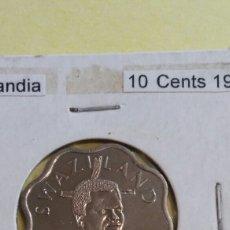 Monedas antiguas de África: SWAZILANDIA 10 CENTS 1998 SC. Lote 117292018