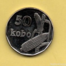 Monedas antiguas de África: NIGERIA 50 KOBO 2006 SC. Lote 199466240