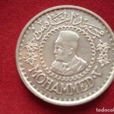 Monedas antiguas de África: 500 FRANCOS. PLATA. MOHAMED V. EMPIRE CHERIFIEN - 1956. Lote 117385695