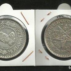 Monedas antiguas de África: PLATA-MARRUECOS 500 FRANCS 1956 22,5 GRAMOS LEY 0.900 . Lote 136638542