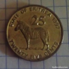 Old Coins of Africa - ERITREA. 25 CENTS 1997. SC. - 118474911