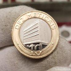 Monedas antiguas de África: MOZAMBIQUE 10 METICAIS 2012 KM 140 BIMETÁLICA SC UNC. Lote 118589767