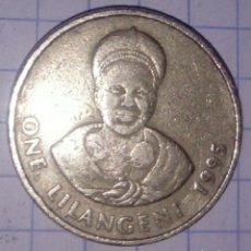 Monedas antiguas de África: SWAZILANDIA. 1 LILANGENI 1995. . Lote 118715439