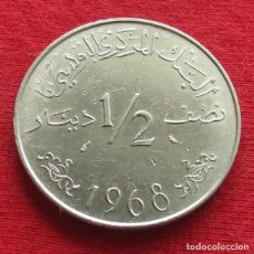 Monedas antiguas de África: TUNEZ 1/2 DINAR 1968 TUNISIA #2. Lote 118752839