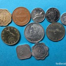 Monedas antiguas de África: 361 ) LOTE DE VARIOS PAÍSES 10 MONEDAS DISTINTAS EN BUEN ESTADO Y NUEVAS. Lote 120029170