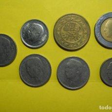 Monedas antiguas de África: LOTE 7 MONEDAS MARRUECOS. DIRHAM. AL-MAGRIB. MURAKUC. MARROC. MARROCO. VER FOTOGRAFIAS. Lote 120243703