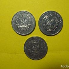 Monedas antiguas de África: LOTE 3 MONEDAS MOZAMBIQUE. MAPUTO. REPÚBLICA DE MOÇAMBIQUE. METICAIS. Lote 120245615
