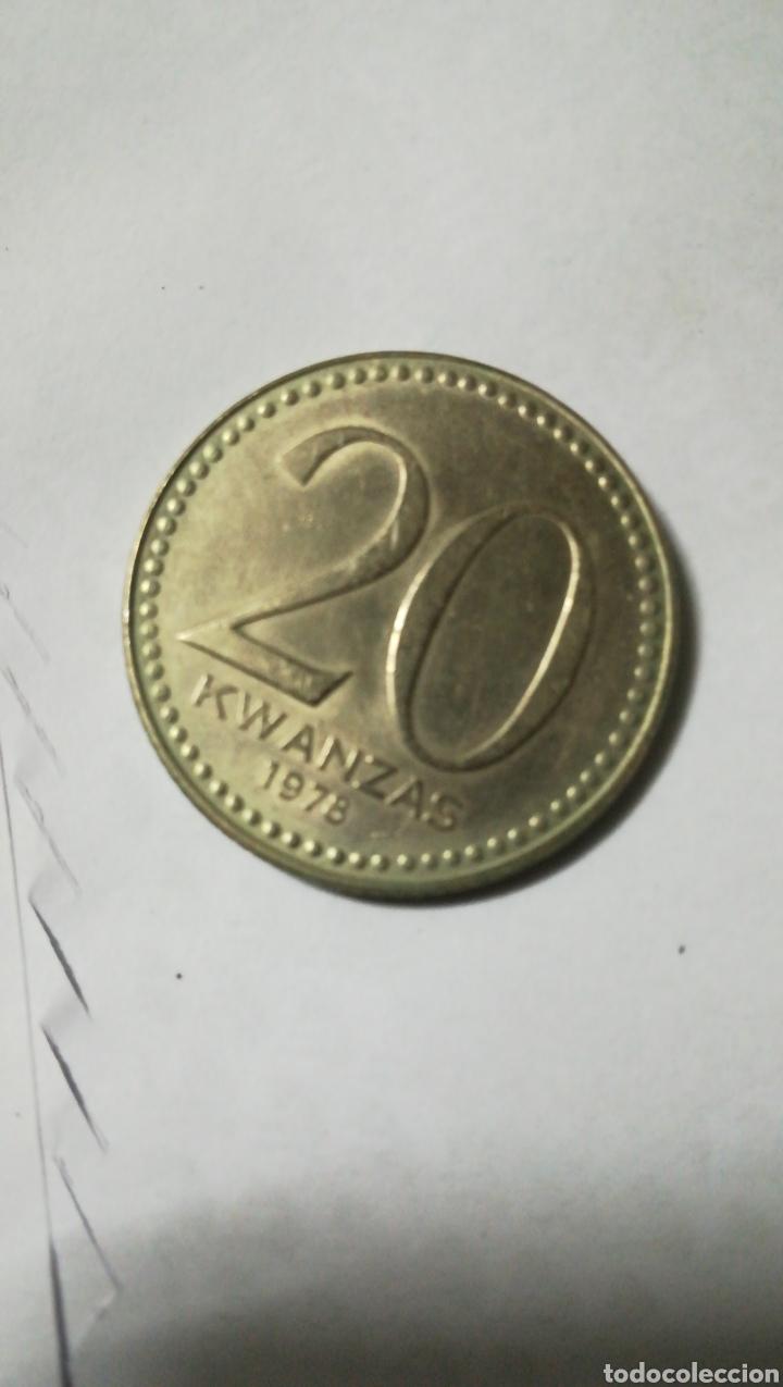 Monedas antiguas de África: Moneda Angola 1975 - Foto 2 - 120746106