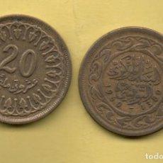 Monedas antiguas de África: TUNEZ - 20 MILLIM 1960. Lote 121310507