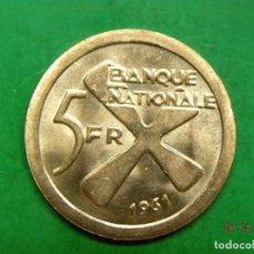 Monedas antiguas de África: KATANGA 5 FRANCS 1961. Lote 121950119