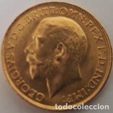 Monedas antiguas de África: MONEDA DE ORO DE JORGE V DE 1911 - 1 LIBRA - SIN CIRCULAR - NUEVA -. Lote 122288995