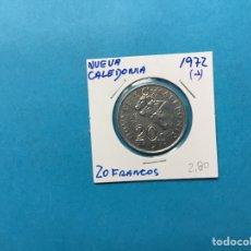 Monedas antiguas de África: 554 ) NUEVA CALEDONIA 20 FRANCOS 1972 ,A, EN MUY BUEN ESTADO. Lote 122290000