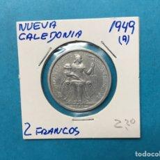 Monedas antiguas de África: 555 ) NUEVA CALEDONIA 2 FRANCOS 1949 ,A, EN MUY BUEN ESTADO. Lote 122290628