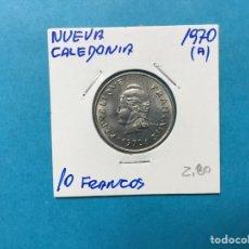 Monedas antiguas de África: 557 ) NUEVA CALEDONIA 10 FRANCOS 1970 ,A, EN MUY BUEN ESTADO NUEVO. Lote 122293650