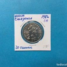 Monedas antiguas de África: 558 ) NUEVA CALEDONIA 20 FRANCOS 1986 ,A, EN ESTADO NUEVO. Lote 122294223