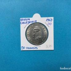 Monedas antiguas de África: 560 ) NUEVA CALEDONIA 50 FRANCOS 1967 A, EN ESTADO NUEVO. Lote 122295626