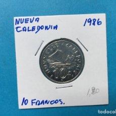 Monedas antiguas de África: 561 ) NUEVA CALEDONIA 10 FRANCOS 1986 , EN MUY BUEN ESTADO. Lote 122296426
