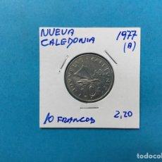 Monedas antiguas de África: 563 ) NUEVA CALEDONIA 10 FRANCOS 1977,A, EN MUY BUEN ESTADO NUEVO. Lote 122298123