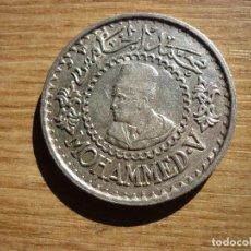 Monedas antiguas de África: 500 FRANCOS, MOHAMED V 1956 PLATA. Lote 122786047