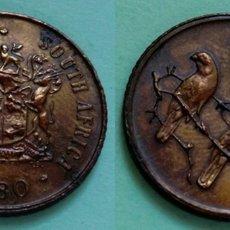 Monedas antiguas de África: SUDAFRICA 1 CENT 1980 PATINA, EBC. Lote 47623636